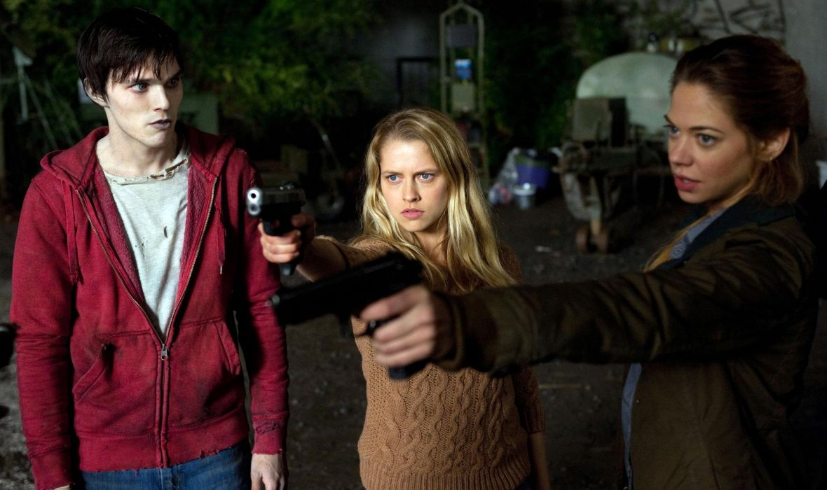 Warm Bodies Nicholas Hoult Teresa Palmer Analeigh Tipton dark horror zombies wallpaper