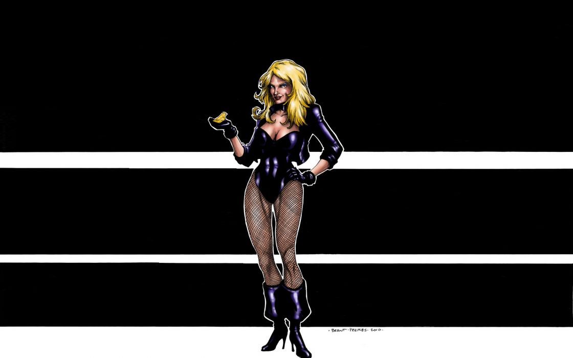 Black Canary dc comics blondes sexy babes women females wallpaper