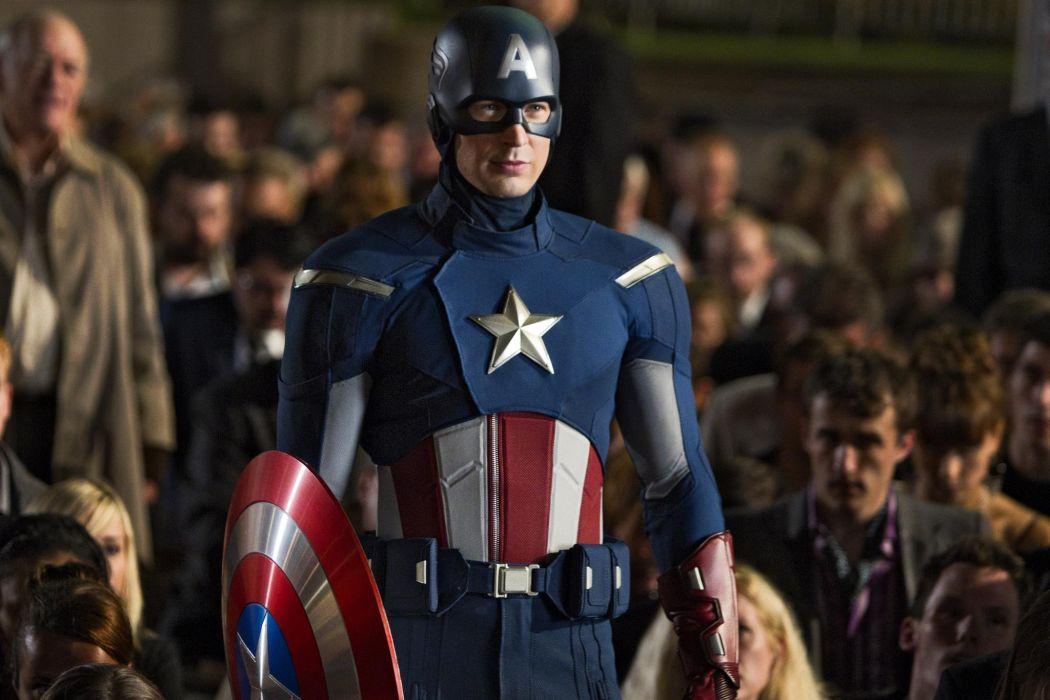 Chris Evans The Avengers movies comics superhero captain america actors men males wallpaper