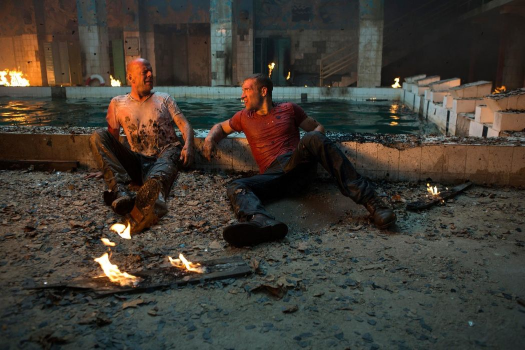 A Good Day To Die Hard bruce willis action men males wallpaper