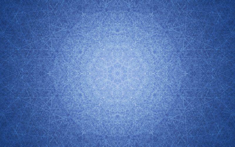 Abstract Pattern Blue texture wallpaper
