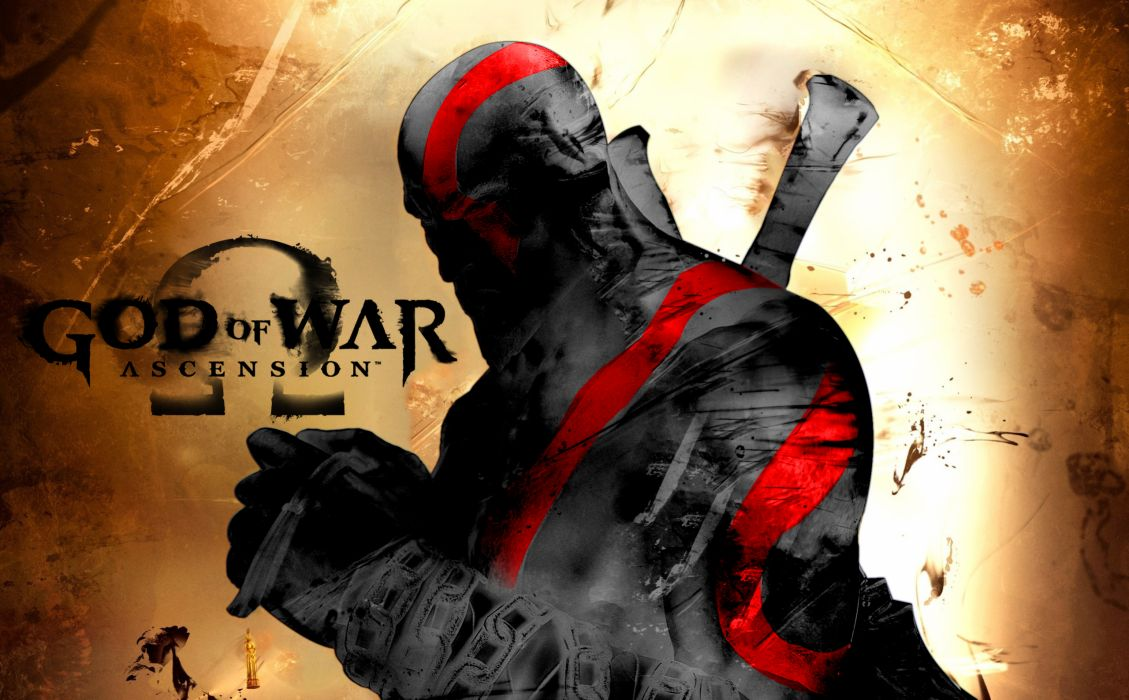 God of War Kratos video games warriors weapons sword wallpaper