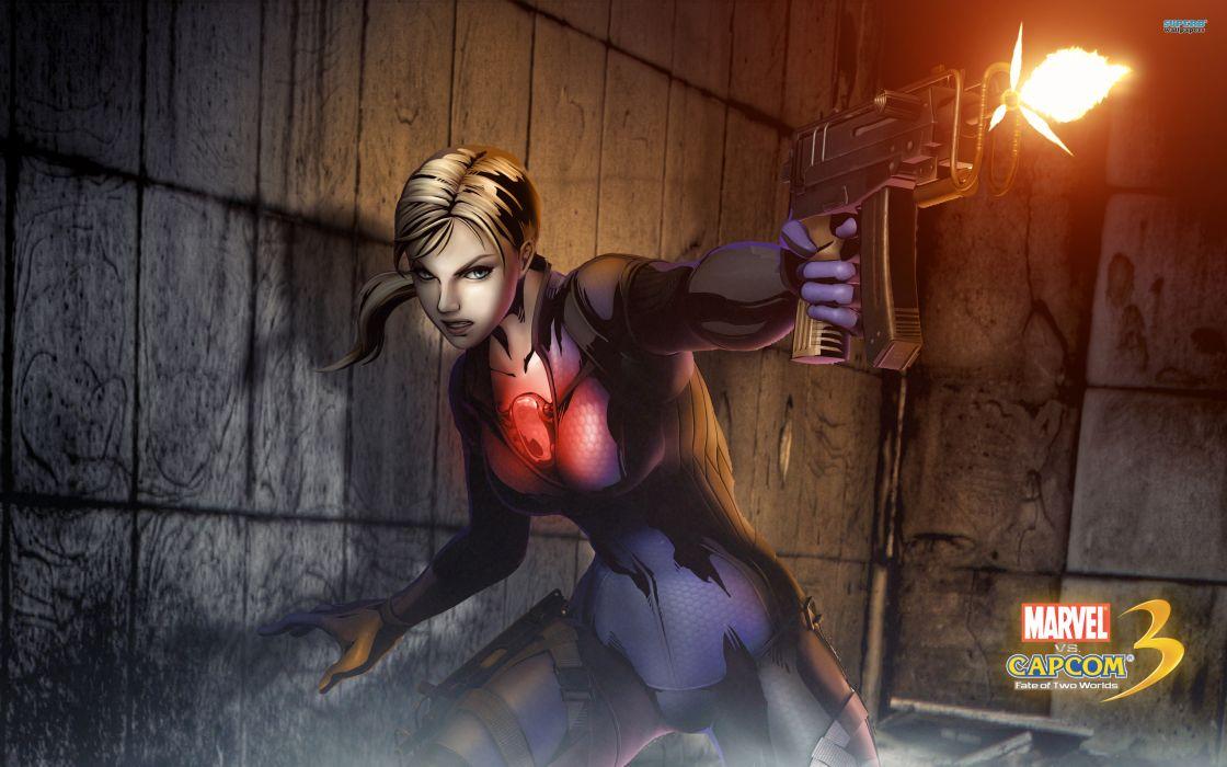 Marvel vs Capcom 3 superhero heroes comics video games  f wallpaper