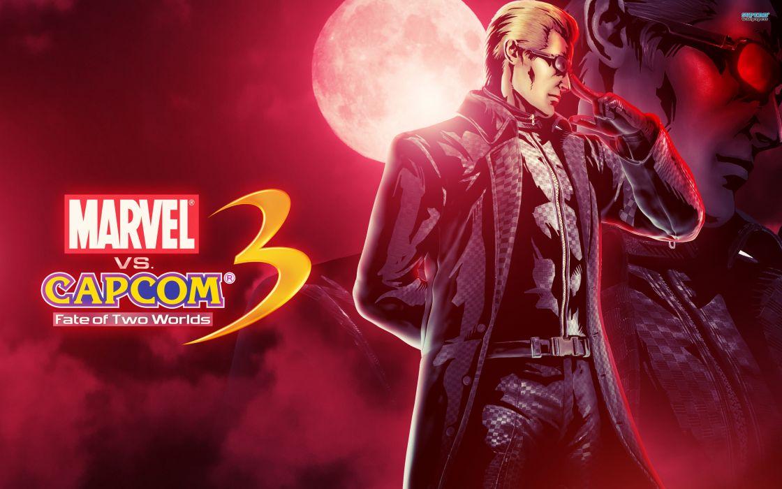 Marvel vs Capcom 3 superhero heroes comics video games wallpaper