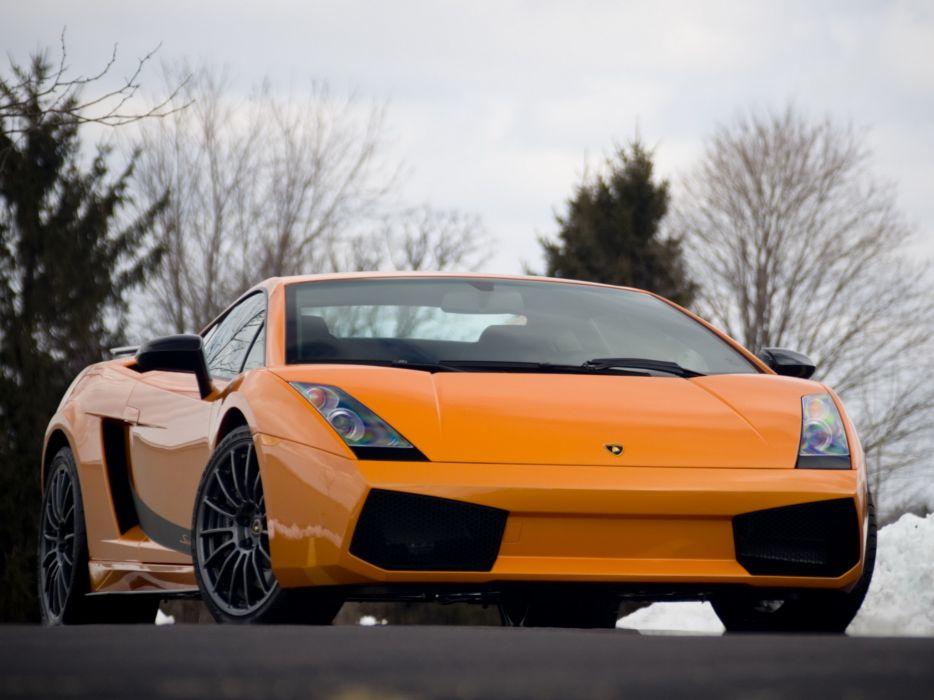 Lamborghini Gallardo superleggera supercars wallpaper