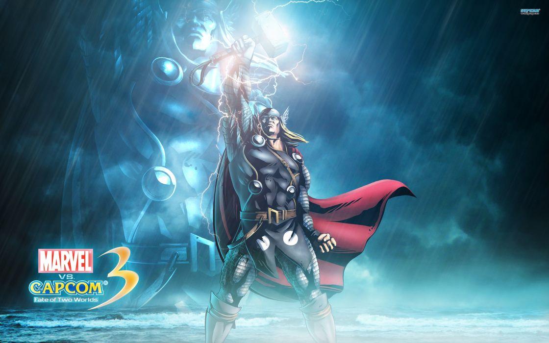 Marvel vs Capcom 3 superhero heroes comics video games     g wallpaper