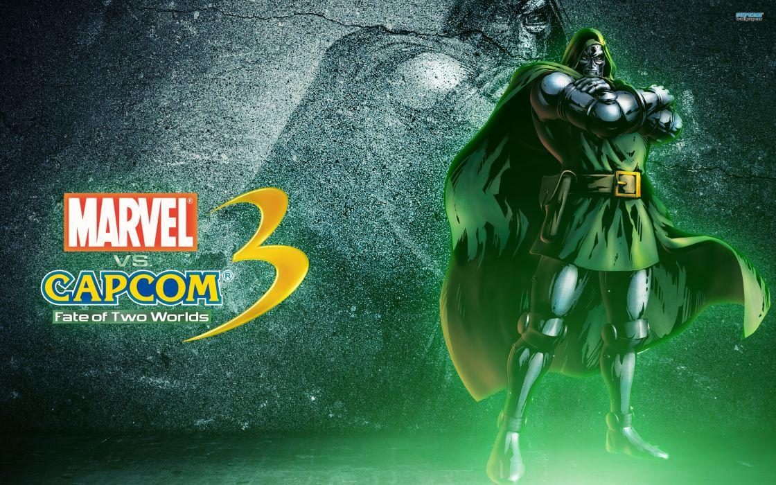 Marvel vs Capcom 3 superhero heroes comics video games    k wallpaper