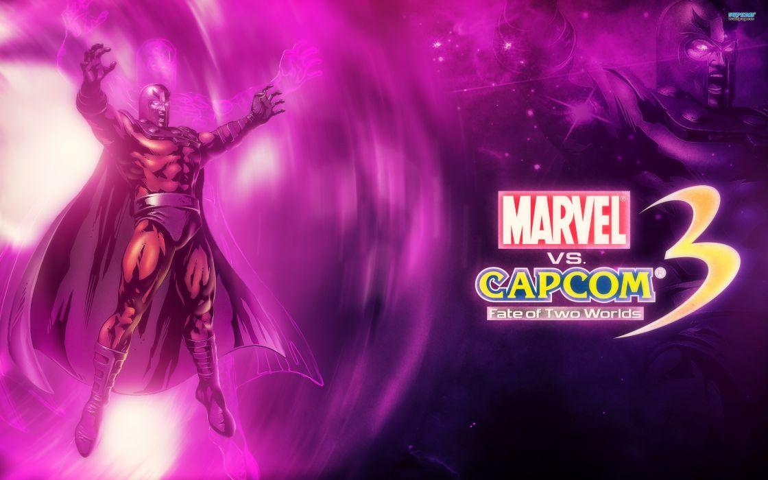 Marvel vs Capcom 3 superhero heroes comics video games   e wallpaper