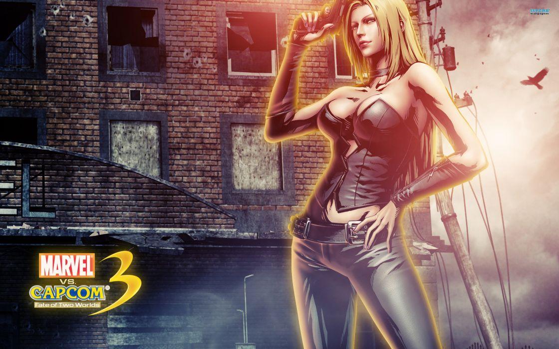 Marvel vs Capcom 3 superhero heroes comics video games   b wallpaper