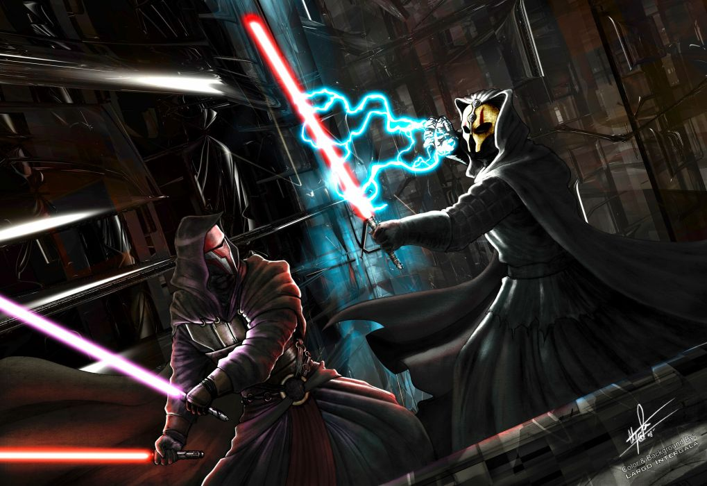 Star Wars Knights of the Old Republic video games darth weapons lightsabers sci-fi movies warriors jedi wallpaper