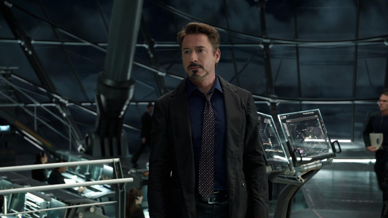 Robert Downey The Avengers comics movies iron man actors men males wallpaper