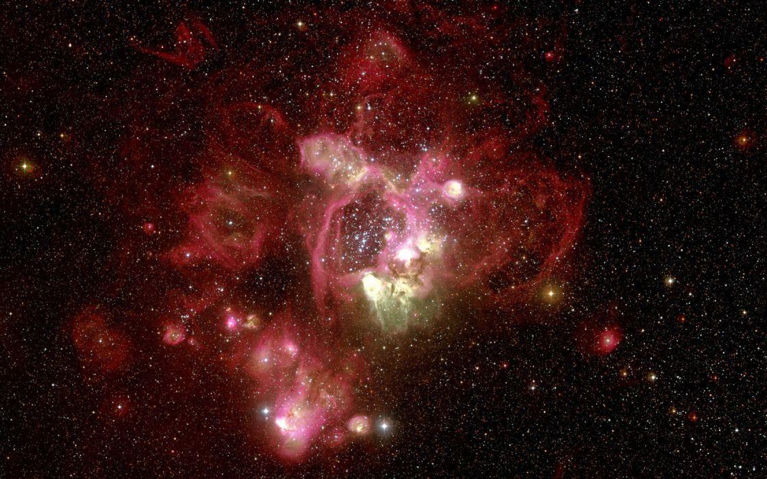 sci-fi outer space universe nebula stars wallpaper