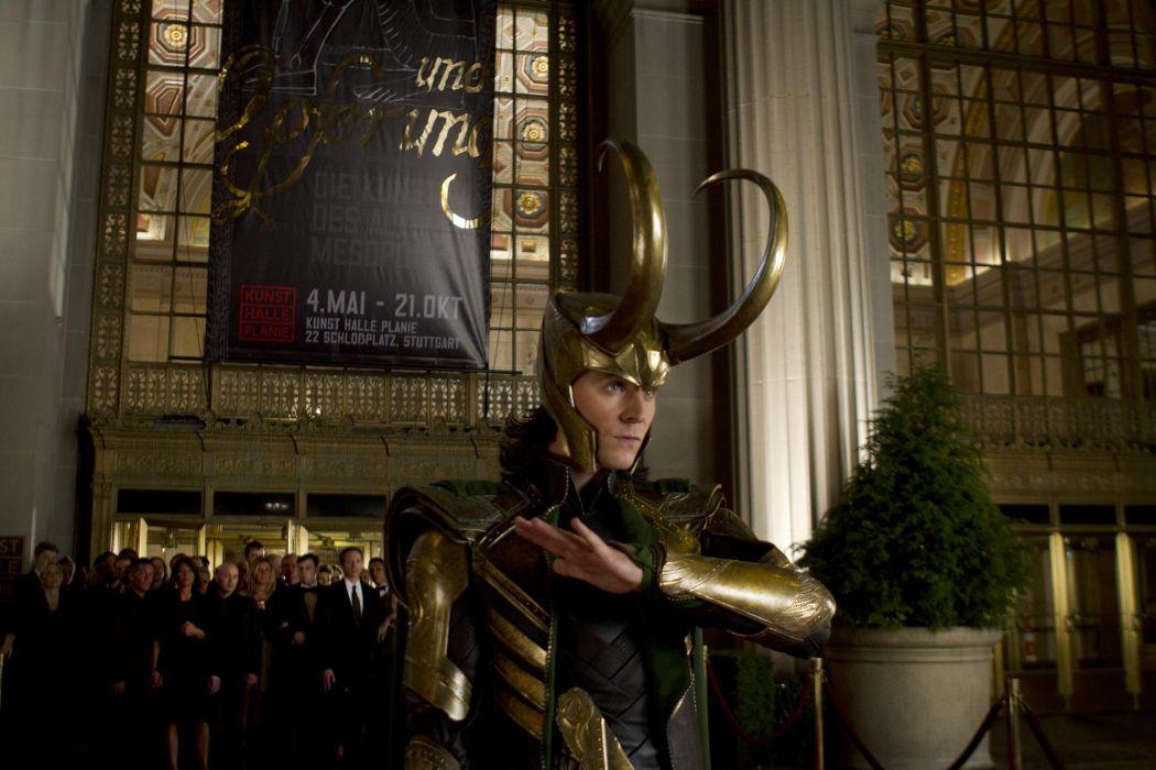 Tom Hiddleston The Avengers comics movies superhero actor men males   h wallpaper
