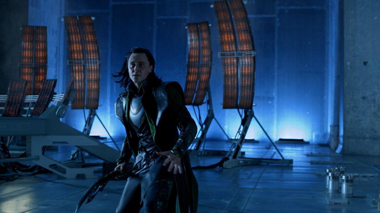 Tom Hiddleston The Avengers comics movies superhero actor men males wallpaper