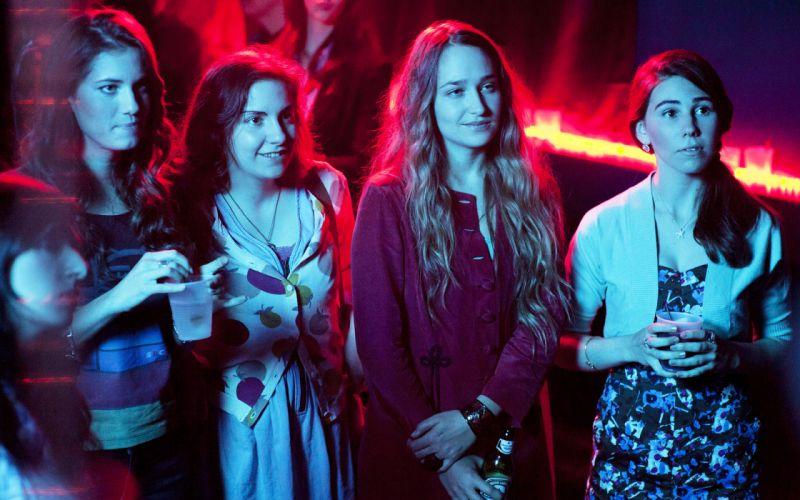 tv series Girls HBO Lena Dunham Allison Williams Jemima Kirke Zosia Mamet television actress women females blondes brunettes babes wallpaper