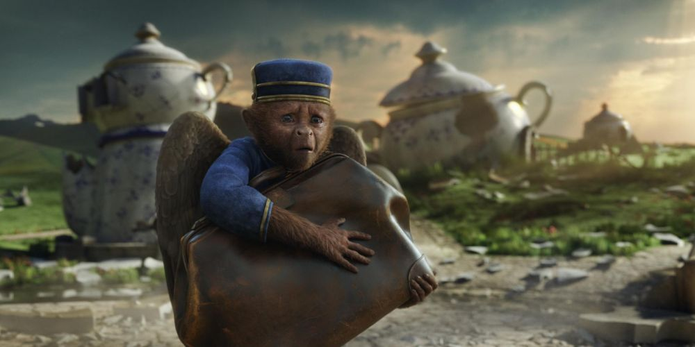 Oz The Great And Powerful movies fantasy monkey wallpaper