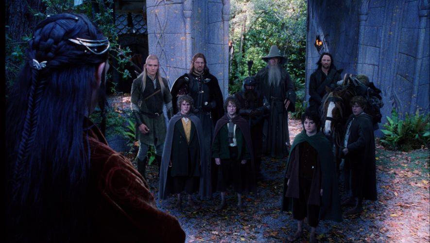 The Lord Of Rings Fellowship Ring movies fantasy wallpaper