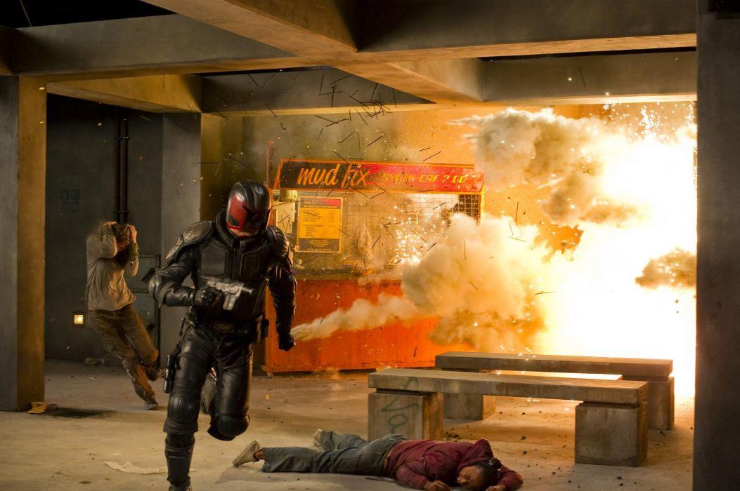 Dredd movies action wallpaper