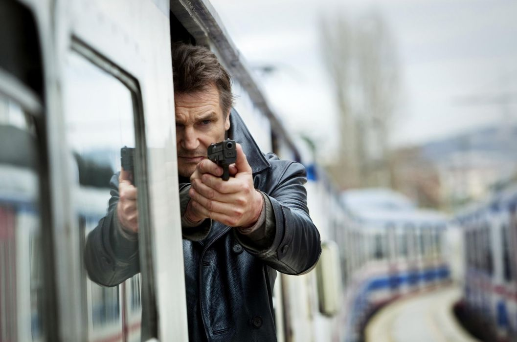 Taken 2 Liam Neeson movies action weapons gun wallpaper