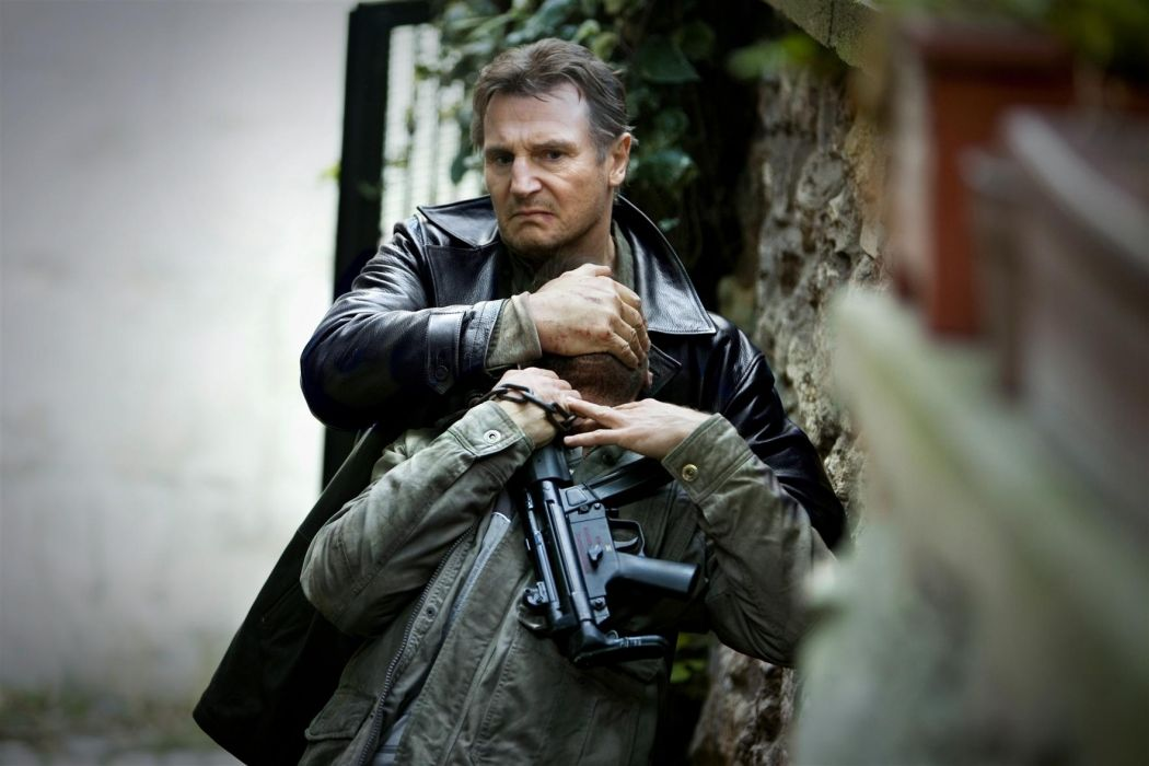 Taken 2 Liam Neeson movies action weapons guns wallpaper