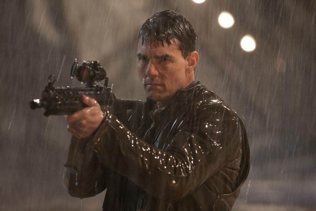 Jack Reacher movies action weapons guns tom cruise wallpaper