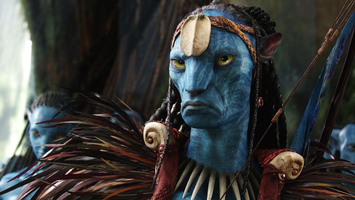 Avatar movies action adventure sci-fi wallpaper