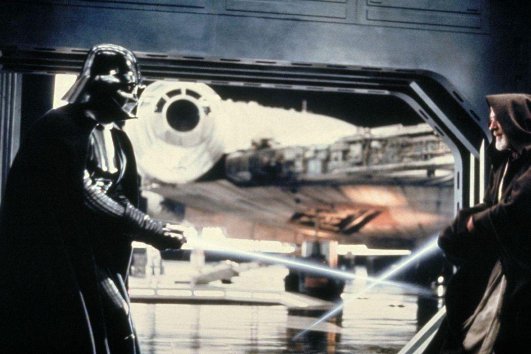 Star Wars sci-fi movies futuristic darth vader lightsaber obi-wan   d wallpaper