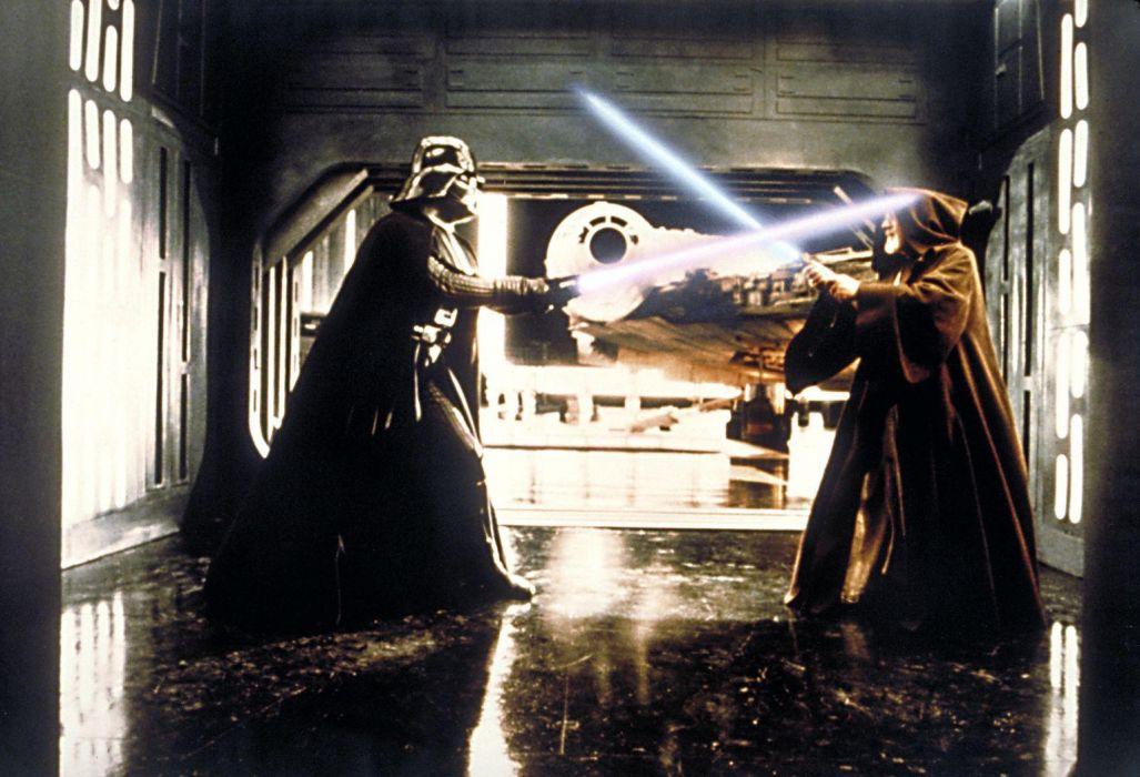 Star Wars Sci Fi Movies Futuristic Darth Vader Lightsaber Obi Wan Wallpaper 1536x1047 40621 Wallpaperup