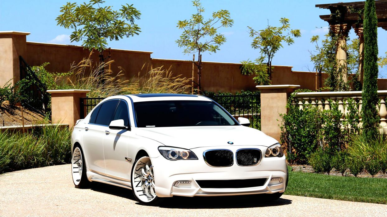 BMW 7series tuning import wallpaper