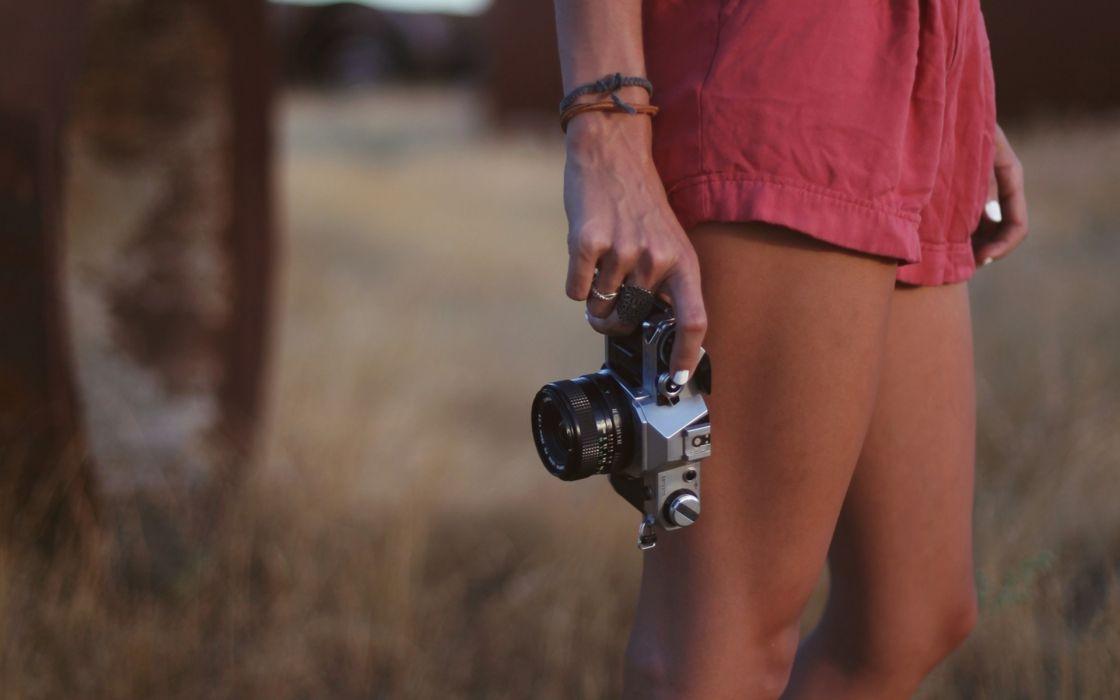tech camera photography lens mood love women females girls legs macro wallpaper