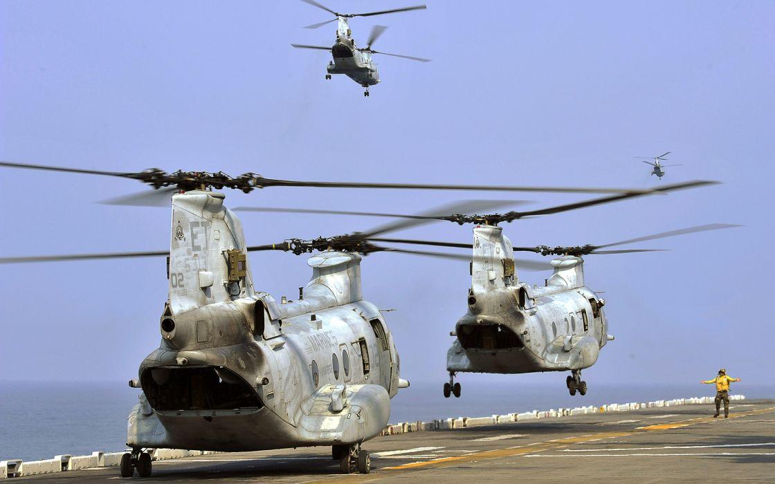 transport helicopters military ocean sea wallpaper