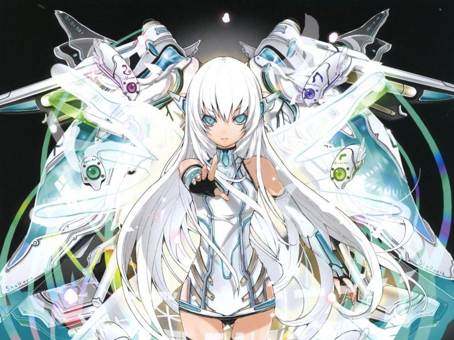 kaku-san-sei million arthur girl wallpaper