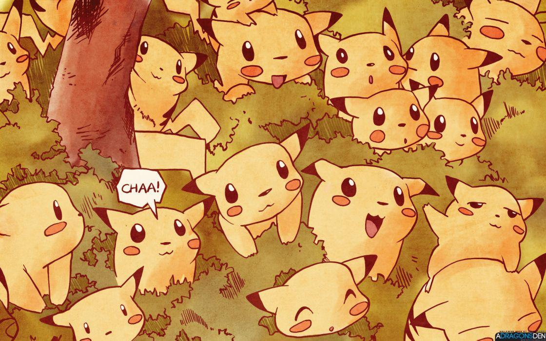 Pokemon Series Game Pikachu wallpaper