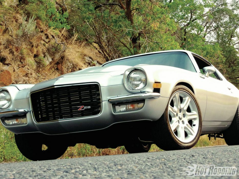 1971 Chevrolet Camaro muscle cars hot rods classic wallpaper