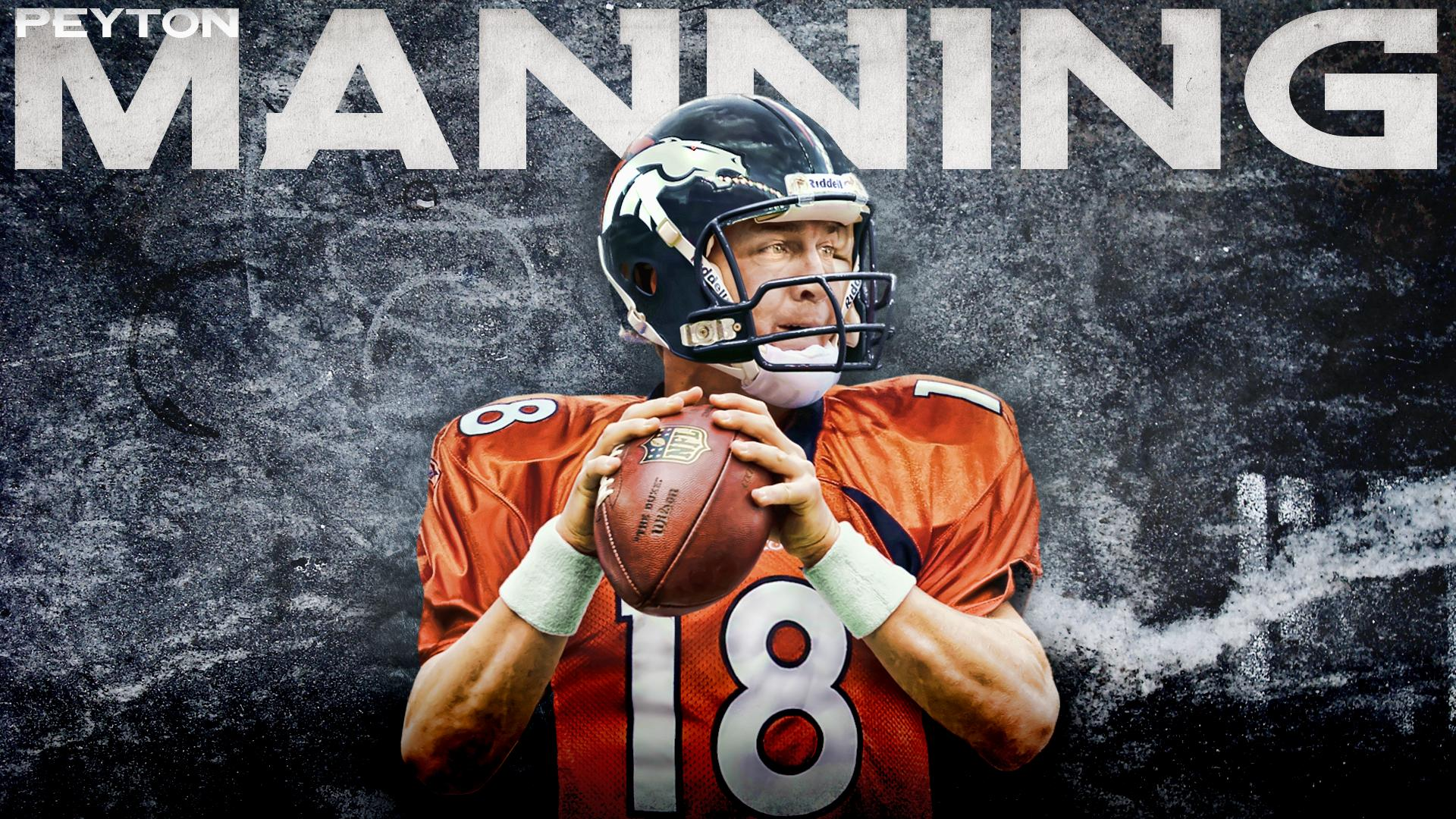 Peyton Manning Denver Broncos Nfl Football Wallpaper 1920x1080