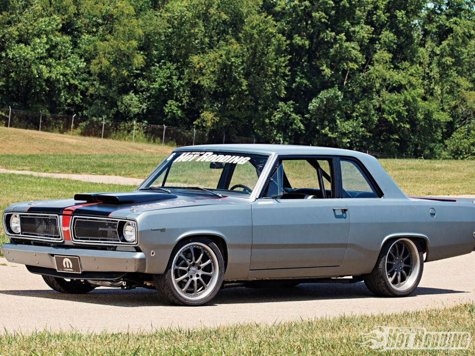 1968 Plymouth Valiant mucle hot rods wallpaper