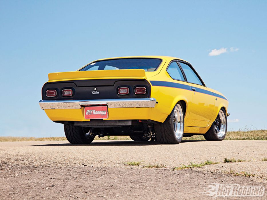 1971 Chevy Vega hot rods muscle cars wallpaper