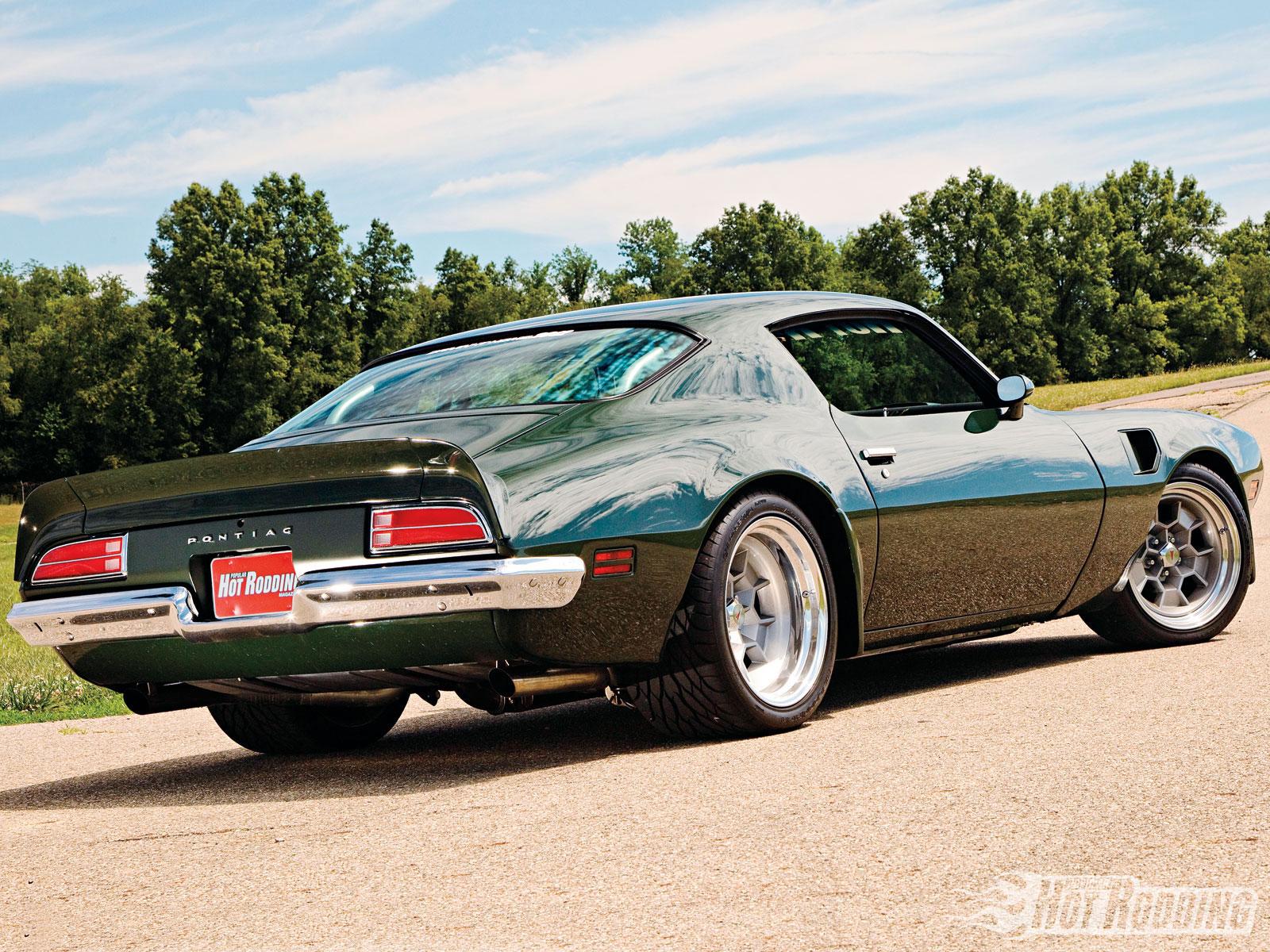 Pontiac Trans Am Hot Rods Muscle Cars Wallpaper