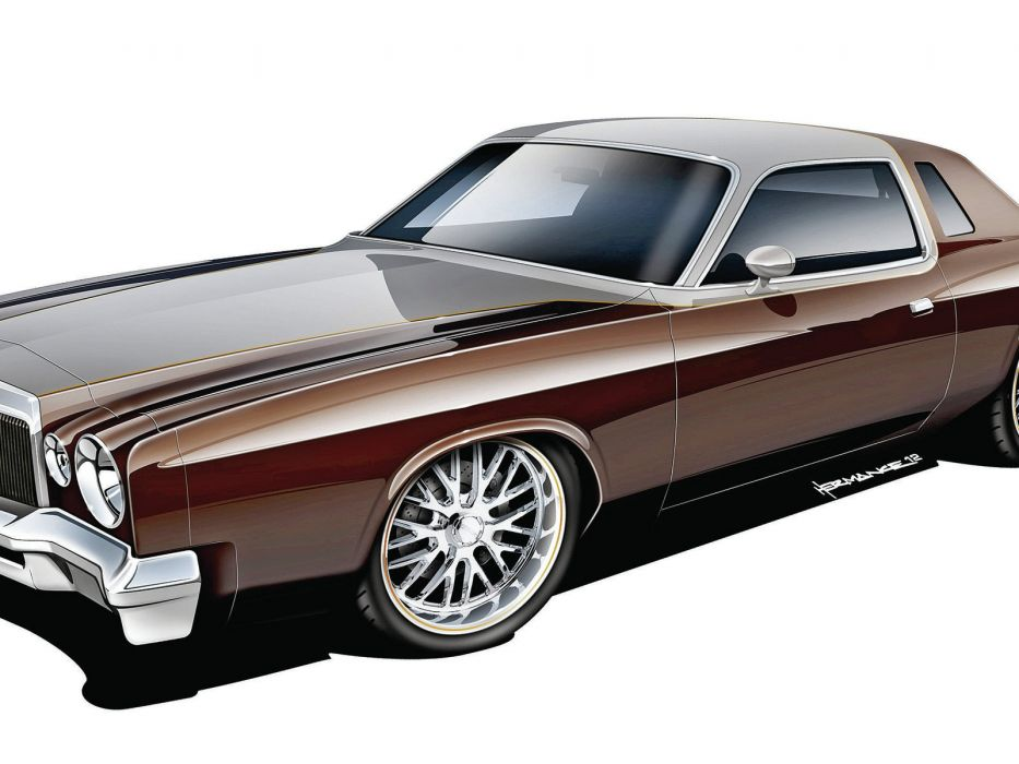 1976 Chrysler Corbada muscle cars hot rods wallpaper