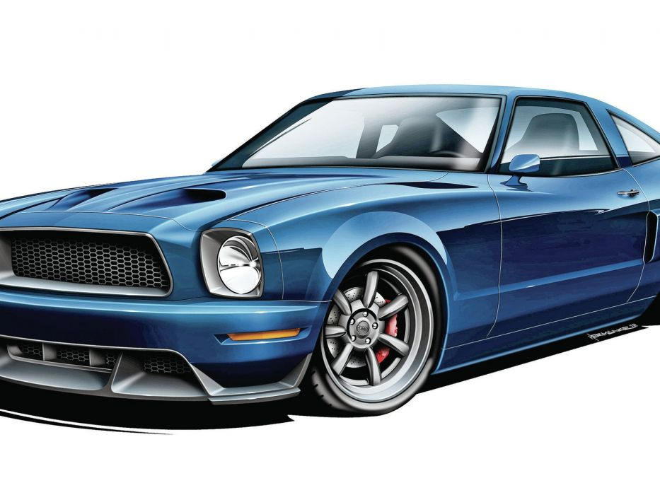1976 Ford Mustang muscle cars hot rods wallpaper
