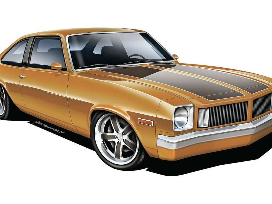 Muscle Cars 1976 Oldsmobile Omega hot rods wallpaper