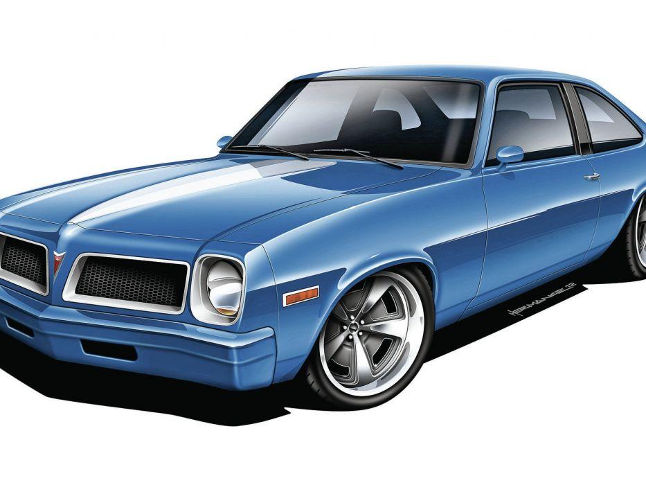Muscle Cars 1976 Pontiac Ventura hot rods wallpaper