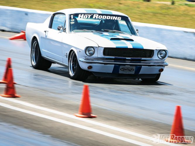 66 Ford Mustang Fastback muscle cars hot rods wallpaper