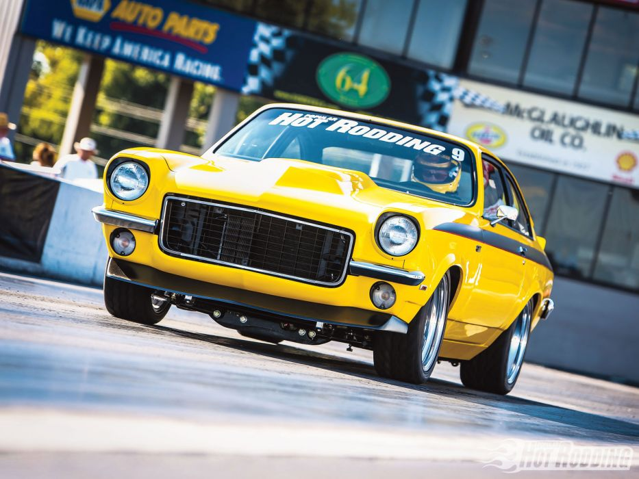 71 Chevy Vega chevrolet drag racing race car muscle hot rods ...