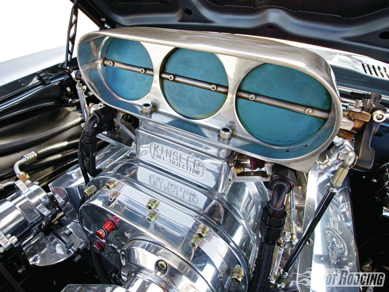 Car Engine Blower : Pontiac firebird muscle cars hot rods engine blower g