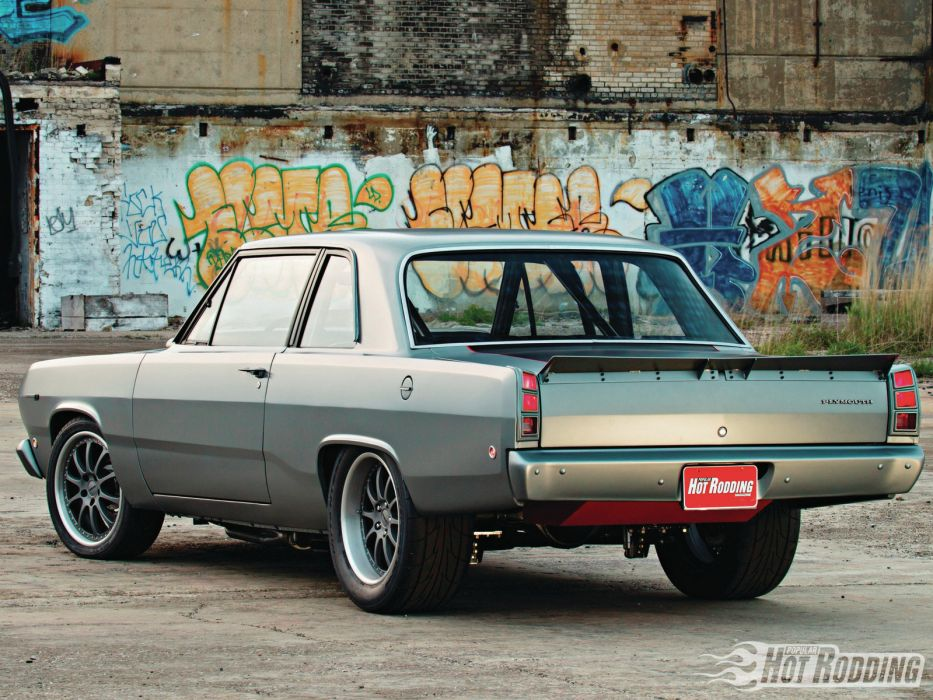 1968 Plymouth Valiant muscle cars hot rods      o wallpaper