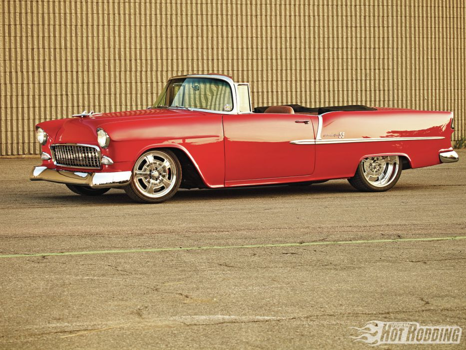 1955 Chevy Bel Air hot rods classic chevrolet      r wallpaper