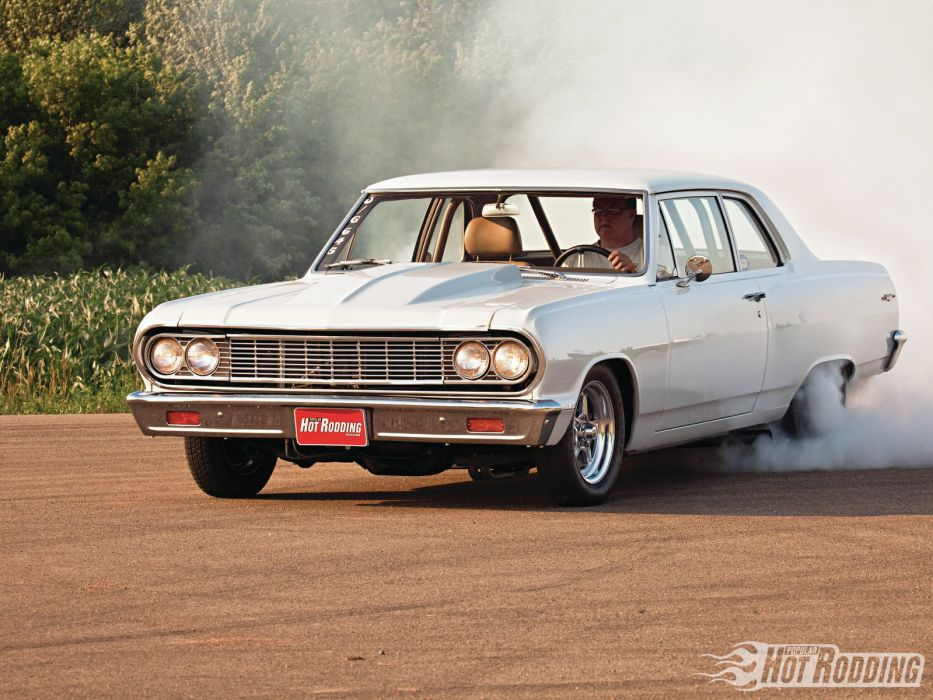 1964 Chevrolet Chevelle 300 muscle cars hot rods wallpaper