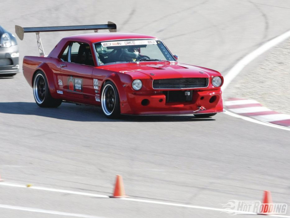 1966 Ford Mustang muscle cars hot rods race racing track wallpaper