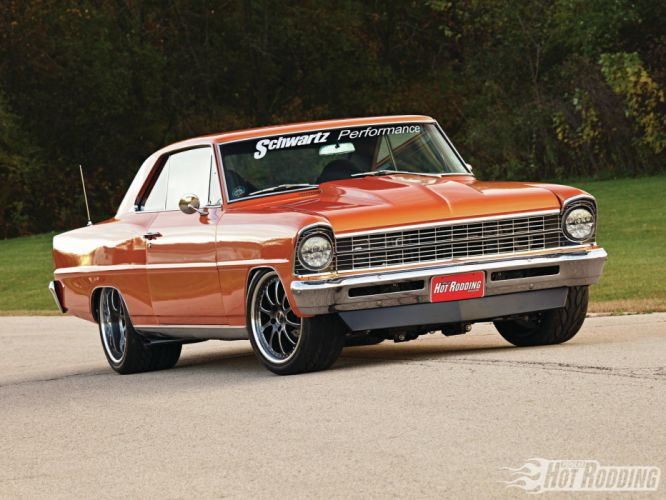 1967 Chevy Nova muscle cars hot rods wallpaper